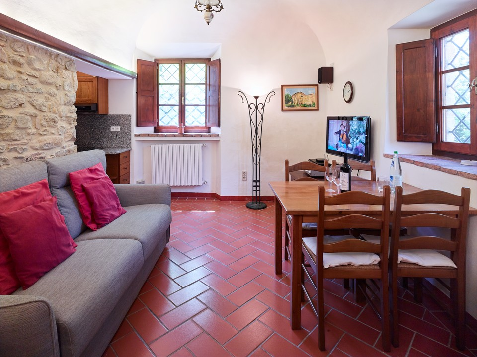 Podere Cortilla, ein Haus in der Toskana, Angolo